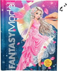 262-3433 Fantasy Model Malbuch mit LED