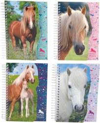 262-4425 Horses Dreams Notizbuch mit Pf