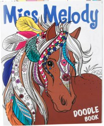 262-4464 Miss Melody Activity Book, mal