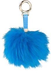 262-4970 Trend LOVE Pompom azurblau Dep