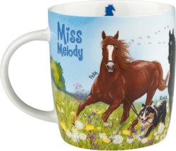 262-5356 Miss Melody Becher, blau Depes