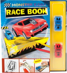 262-5426 Monster Car Race Book mit 2 Re