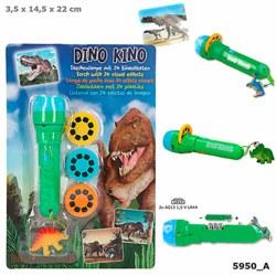 262-5950 Dino World Taschenlampe mit Bi