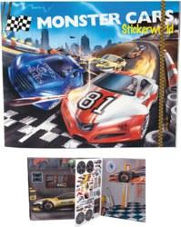 262-6244 Monster Cars Stickerworld  Dep