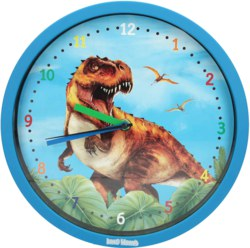 262-6487 Dino World Wanduhr  Depesche,