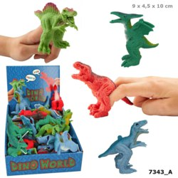 262-7343 Dino World Fingerpuppe Depesch