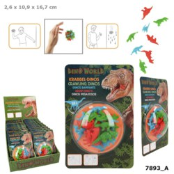 262-7893 Dino World Krabbel-Dinos Depes