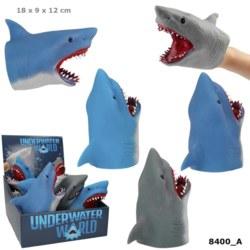 262-8400 Dino World Handpuppe Hai UNDER