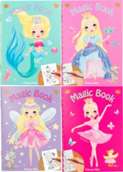 262-8437 Princess Mimi Mini Malbuch mit