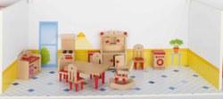 266-51951 Puppenmöbel Küche Goki, Puppen