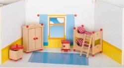 266-51953 Puppenmöbel Kinderzimmer Goki,