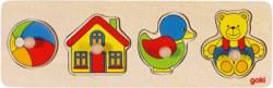 266-57998 Steckpuzzle Goki, für Kinder a