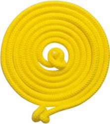 266-63921 Springseil, gelb 2,5m Goki, ab