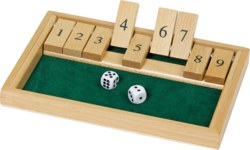 266-WG175 Würfelspiel Shut the box Gok