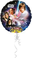 270-3165401 Gefüllter Folienballon Star Wa