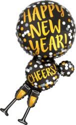 270-3425201 Gefüllter Folienballon Happy N