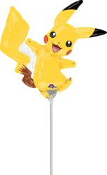 270-3460402-3 Folienballon Mini Pikachu, 30