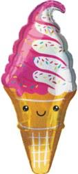 270-3848701 Gefüllter Folienballon Eiswaff