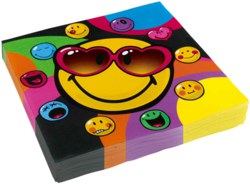 270-552428 20 Servietten Smiley Express Y