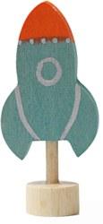 285-03325 Steckfigur Rakete Grimm's Spie