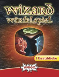 307-01958 Wizard Würfelspiel 2 Ersatzblö