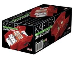 307-05000 Kartenmischmaschine Rot Amigo,