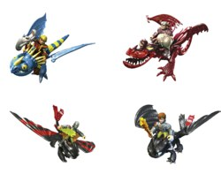 307-95737 DreamWorks Dragons: Drago & Wa
