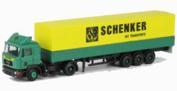 312-LC4056 MAN F90 Sattelzug 'Schenker'