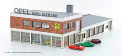 312-LC5031 OPEL Autohaus mit 4x MINIS Ope