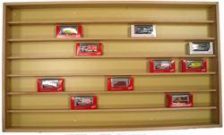 315-12010 Holz Schaukasten mit Glasschie