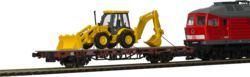 315-26260 Niederbordwagen mit Baggerlade
