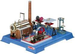 316-00161 Dampfmaschine D16 mit Werkstat