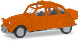 317-027632004 Citroen 2 CV mit Queue, orange