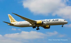317-532976 Gulf Air Boeing 787-9 Dreamlin