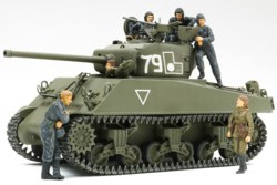 318-300025105 WWII M4A2 Rote Armee mit Figur
