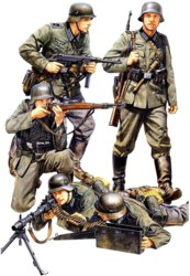 318-300035293 1:35 WWII Figuren-Set Deutsche