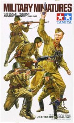 318-300035311 1:35 WWII Figuren-Set Russisch