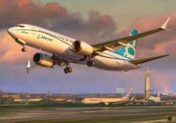 318-500787026 Mittelstreckenflugzeug Boeing