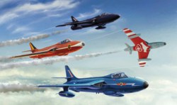 318-510002772 Hawker Hunter F Mk. 6/9  Itale