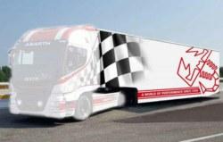 318-510003936 LKW Sattelzug Racing Trailer I