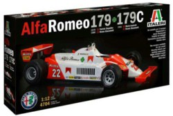 318-510004704 1:12 Alfa Romeo 179 / 179C Ita