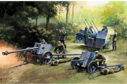 318-510007026 German Guns Set: PAK35-PAK40-F