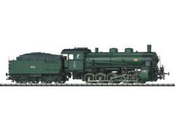 319-T22029 Dampflokomotive G 5/5 mit Schl