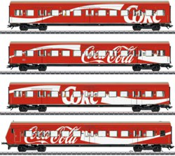 320-43890 Personenwagen-Set S-Bahn der D