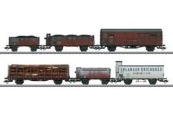 320-46088 Güterwagen-Set der DRG, 6-teil