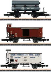 320-86604 Wagen-Set Gütertransport der K