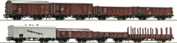 321-44003 8-teiliges Set Güterwagen der