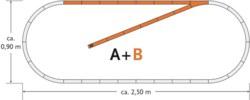 321-61101 Gleisset B geoLine Roco geoLin