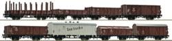 321-67127 Güterwagenset der DR, 8-teilig