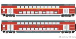 321-74148 Doppelstockwagen, DB AG Roco M